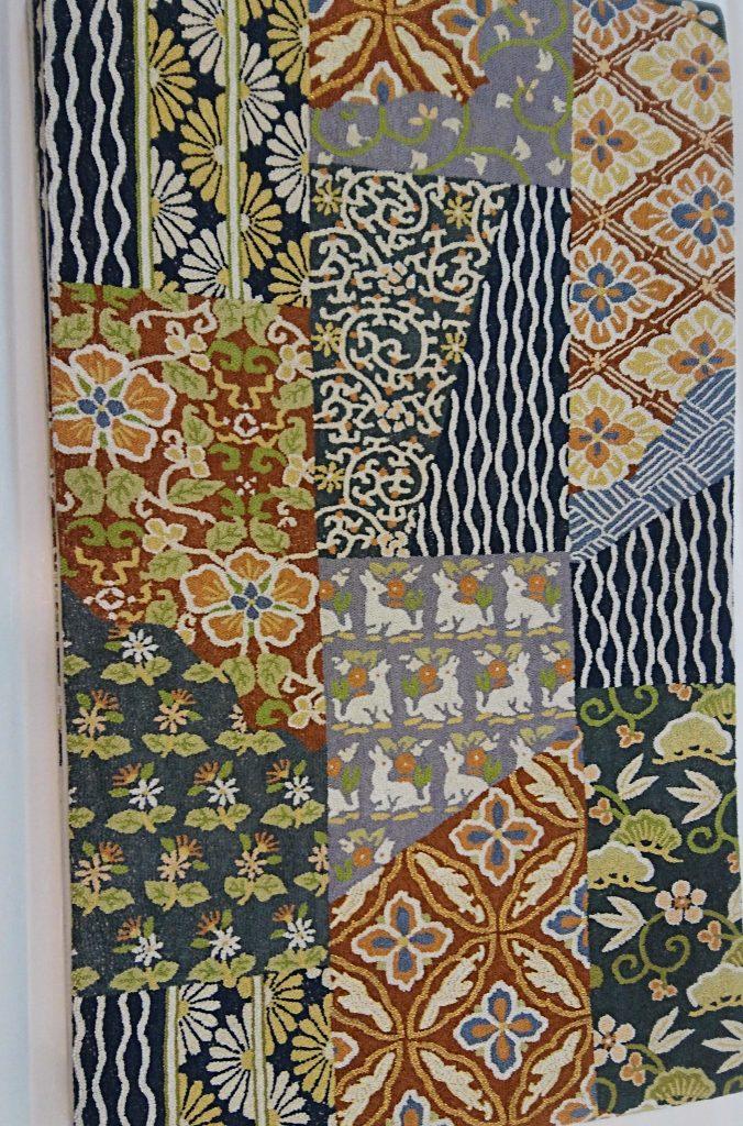 相良刺繍の袋帯