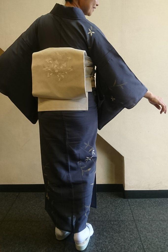 変り織の袋帯